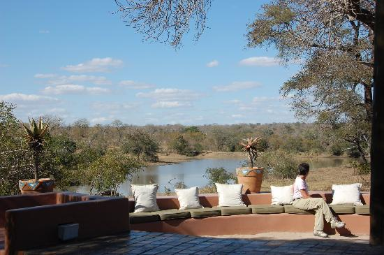 Vuyatela Lodge & Galago Camp: view from patio