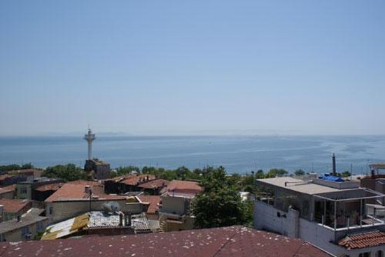 Emine Sultan Hotel & Suites: Marama view from the terrace