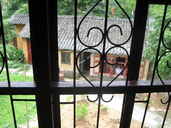 Yangshuo Outside Inn: view from our window