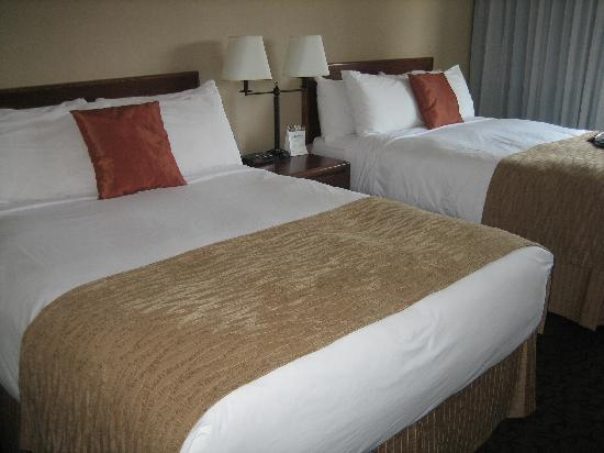 The Thompson Hotel and Conference Centre: Beds In Room