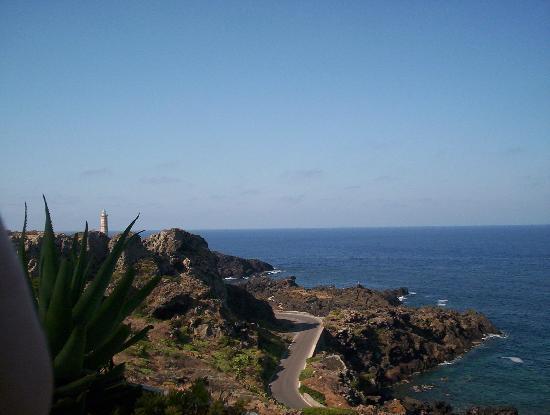Hotel Ustica Punta Spalmatore : vista mare dalla piscina