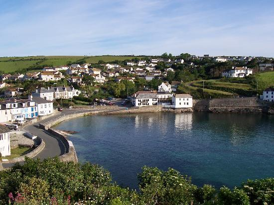 Land's End, UK: Portmellon Cove from Longships
