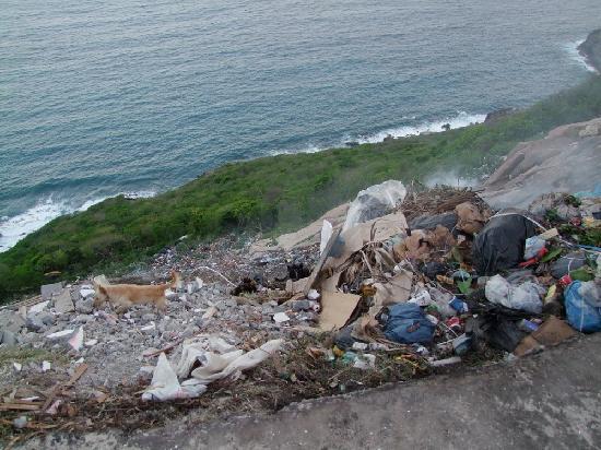 Les Saintes: Garbage
