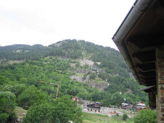 Comapedrosa Hotel: Visto desde el balcón