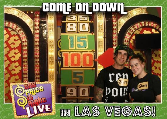 The Price is Right Game Show: everyone gets a free picture