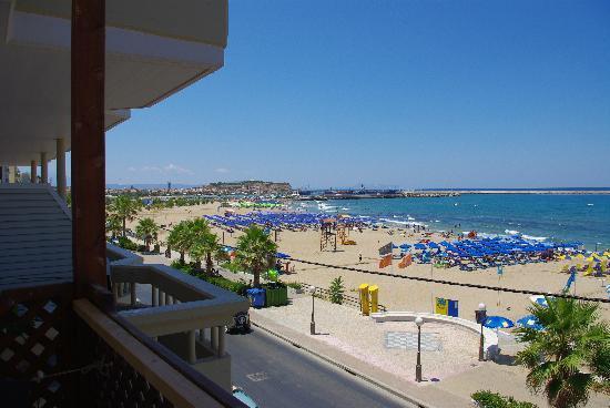 Hotel Poseidon: la vue du balcon