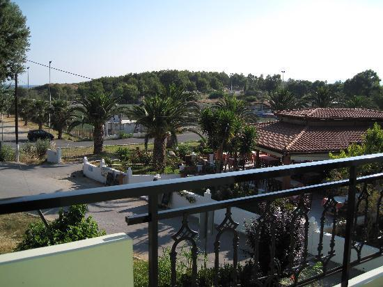 Akti Hotel: another view from the terrace