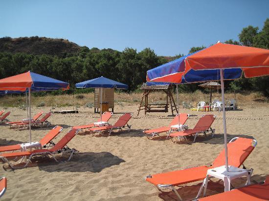 Akti Hotel: Ag.Apostoloi long beach