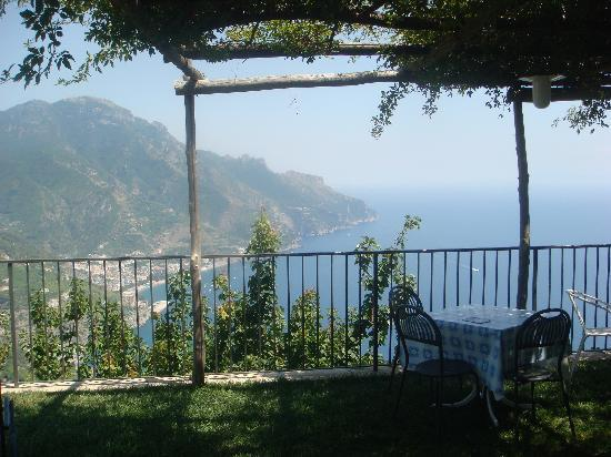 Villa Amore: View from the garden terrace