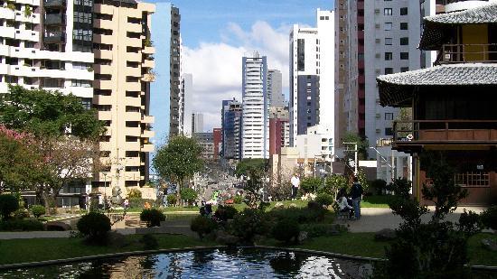 Curitiba, PR: Plaza de Japón