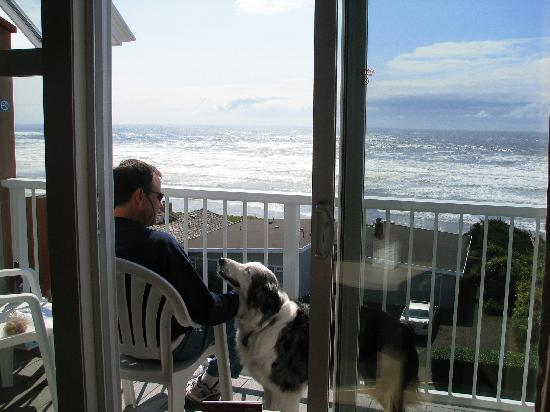 Room S Balcony Looking At Ocean