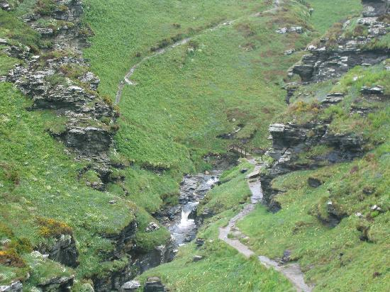 Valency B&B: coastal walk from boscastle