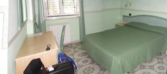 Hotel Villa Sirena: Camera da letto