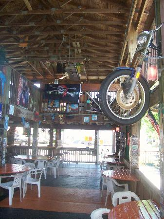 The Pavilion Bar & Grill: Biker friendly