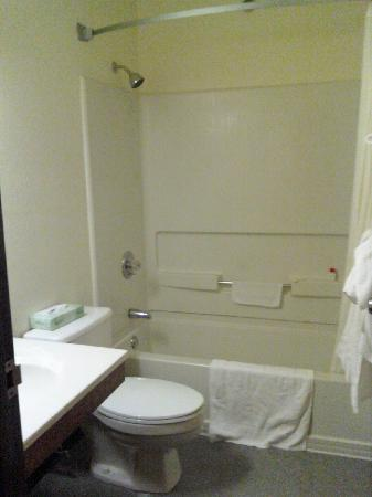 Super 8 Williamsport: Bathroom
