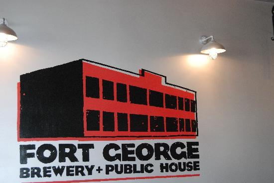 Fort George Brewery and Public House: interior