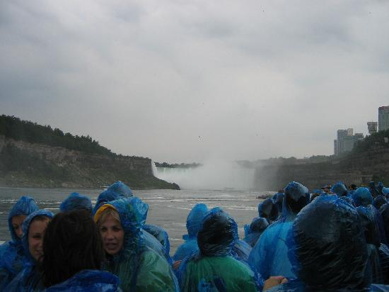 Butler Creek House: aboard the Maid of the Mist