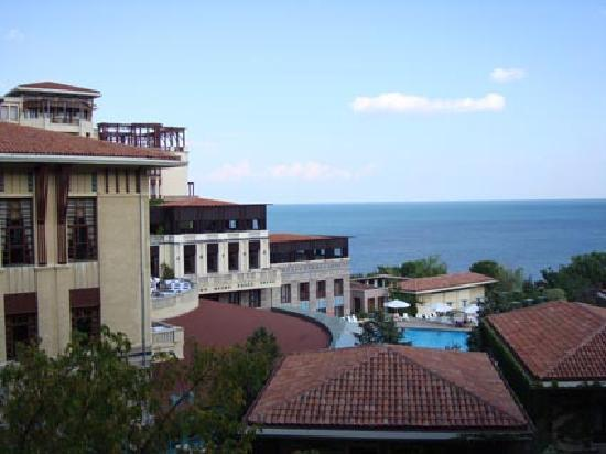 Klassis Resort Hotel: the view from my room