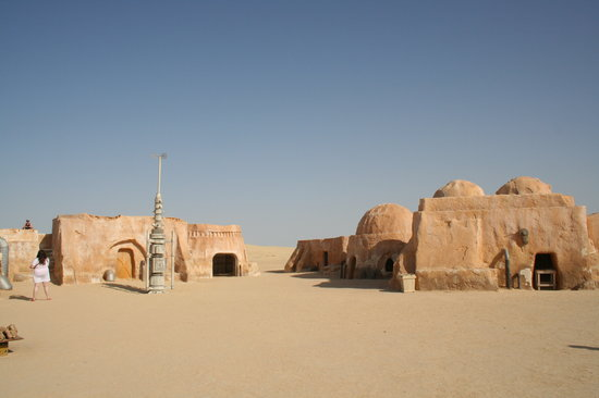 Sousse, Tunus: Star Wars Set