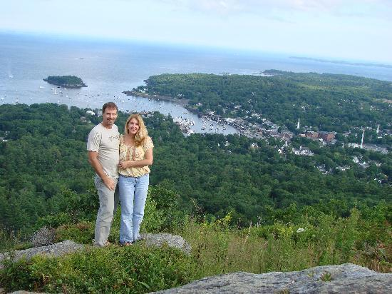 Hawthorn Inn: view from Mt Battie