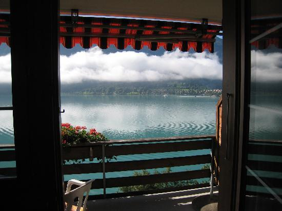 Hotel Brienzersee: View from our room