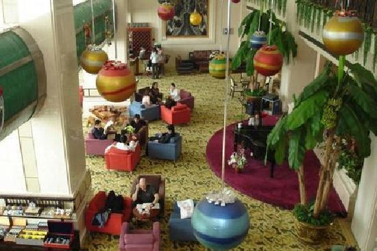 Harvest Hotel: the lobby