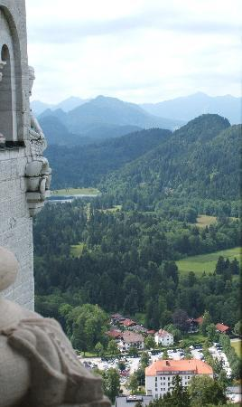 Hohenschwangau, เยอรมนี: the mountains from inside