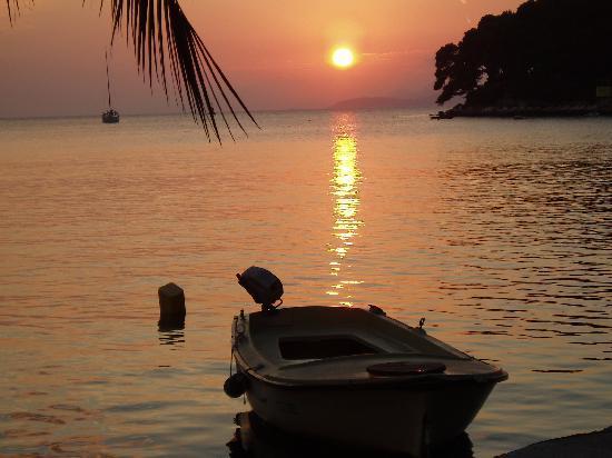 Hotel Cavtat: Cavtat Sunset