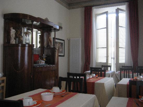 Torre del Lago Puccini, Włochy: The breakfast room
