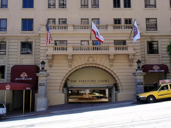 Stanford Court Hotel San Francisco Ca