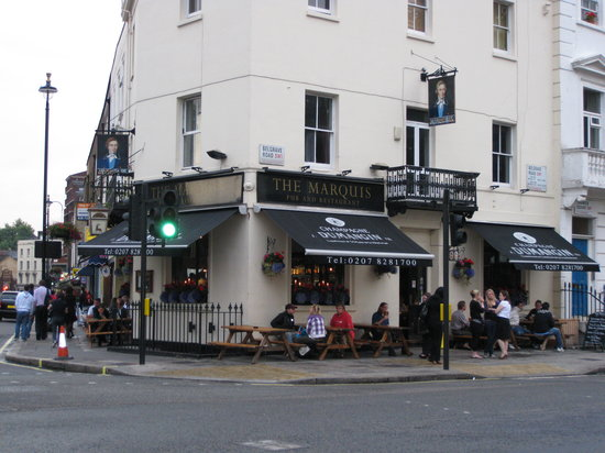 Marquis of Westminster: Like any other pub/restuarant
