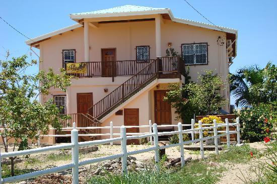 Mirasol Beach Apartment: Back view of Mirasol