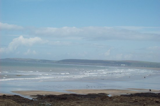 Westward Ho, UK: beach