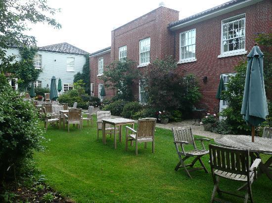 Beechwood Hotel: Hotel garden