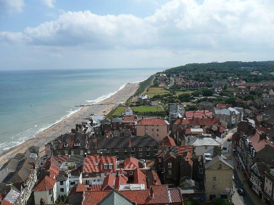 North Walsham, UK: Cromer from Church Tower