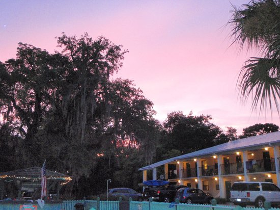 Sunset at Steinhatchee River Inn
