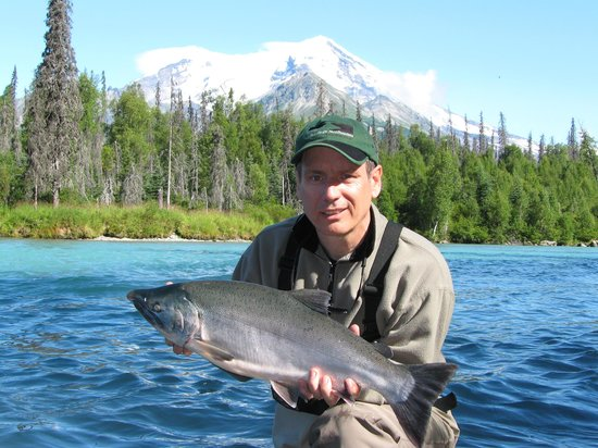 Lake Clark National Park and Preserve, AK: RML fishing