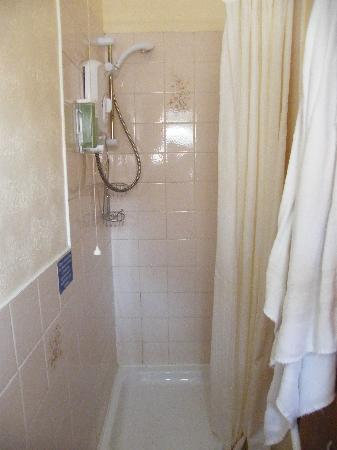 Craigside Hotel: shut the door and you can get to the shower