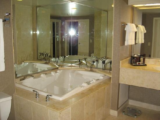 Bathroom 2 Picture Of Treasure Island Ti Hotel