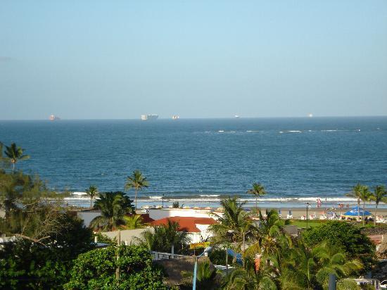 Hotel Mocambo: Vista desde la habitación