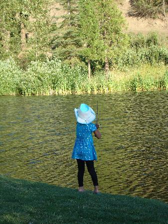 Greenhorn Creek Guest Ranch: Fishing