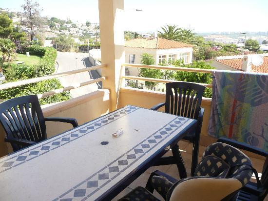 Mercury Hotel: la terrasse ( vue 1)