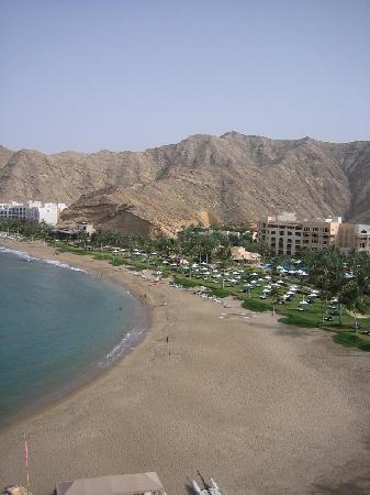 Shangri La Barr Al Jissah Resort & Spa-Al Husn : view from balcony