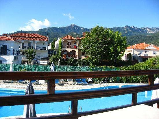 Thásos, Grecia: the pool