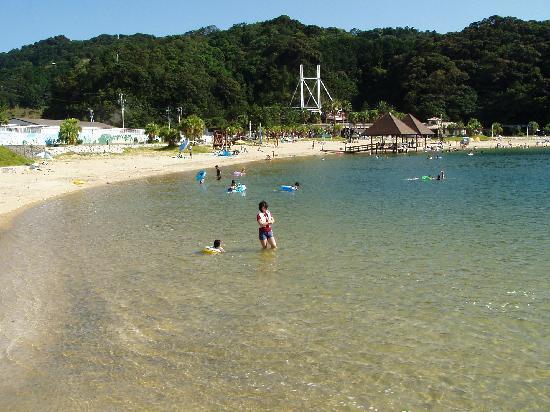 Taiki-cho, ญี่ปุ่น: 海水浴も混んでいません、高速紀勢道最終紀勢大内山インター降りて右折錦へ約車で20分以内着です