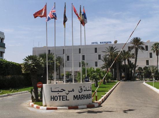 Marhaba : Entrée de l'hôtel