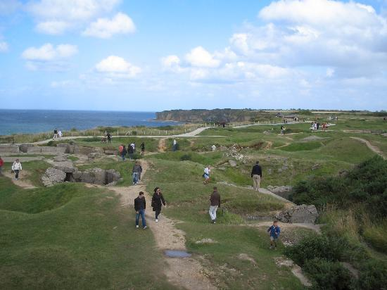 Basse-Normandie, France : Pointe Du Hoc Trail
