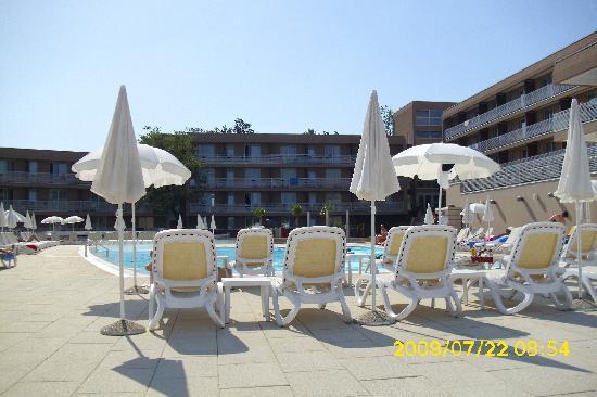 هوتل لاجونا مولينداريو: Pool area