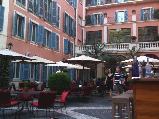 Le jardin picture of hotel de russie rome tripadvisor for Le jardin 489 rome