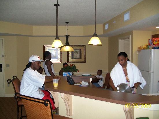 in 1 bedroom suite picture of wyndham bonnet creek resort orlando